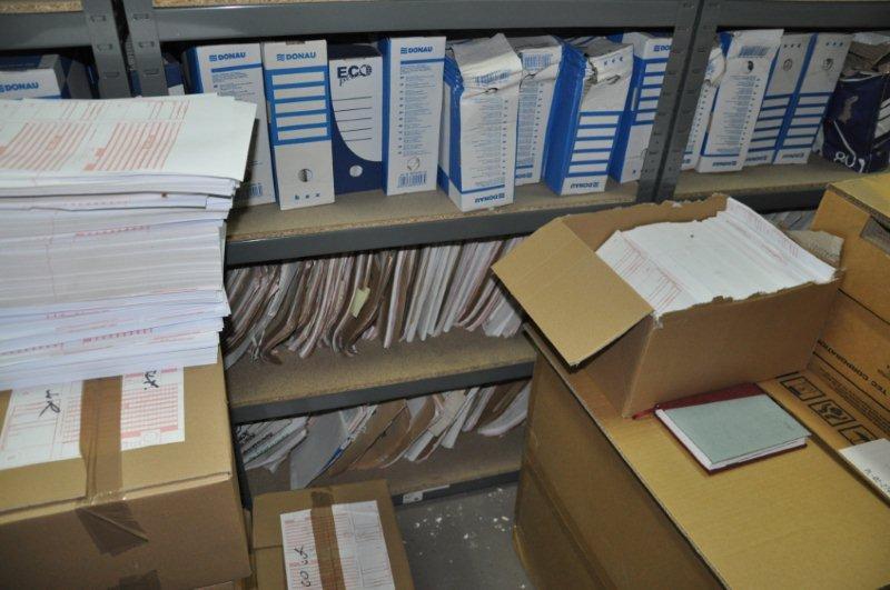 osuszanie dokumentow